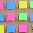Many colour post-it — Stock Photo #9437689