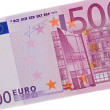 One bill of five hundred euros - Stock Photo