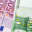 Bills of euros — Stock Photo
