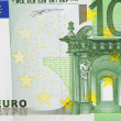 One bill of one hundred euros — Stock Photo