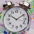 The time is money — Stockfoto