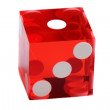 Dice of the casino - Stock Photo