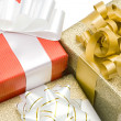 Many beautiful gifts — Stock Photo