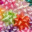 Stock Photo: Wallpaper of many ribbons