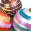 Three balls of christmas — Stock Photo #9438192