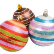 Royalty-Free Stock Photo: Three balls of christmas