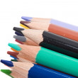 Many pencils of different colors - Stock Photo