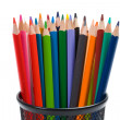 Many pencils of different colors — Stock Photo #9438224