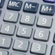 Macro of calculator - Stock Photo