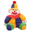Rag doll clown — Stockfoto