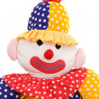 Rag doll clown — Stock Photo