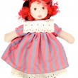 Stock Photo: Beautiful rag doll