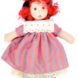 Beautiful rag doll — Stock Photo