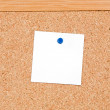 Royalty-Free Stock Photo: Noticeboard of cork