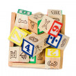 Alphabet blocks — Stock Photo #9438401