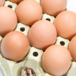 Differents eggs — Stock Photo