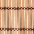 Tablecloth vertical bamboo slats - Stock Photo