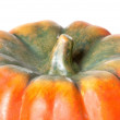 Orange pumpkin isolated — Stock Photo