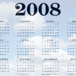 2008 Calendar - Foto de Stock  
