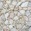 Textures of many white stones - Stock Photo