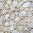 Textures of many white stones — Stock Photo