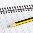 Royalty-Free Stock Photo: Pencil and notebook