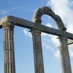 Columns with Roman ruins — Stock Photo