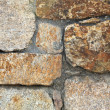 Photo of a plain stone wall — Foto de Stock