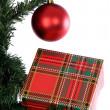 Christmas tree decoration — Stock Photo
