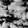 Sky in bw - Stock Photo