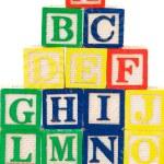 Block letters — Stock Photo