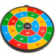Dart board — Foto de Stock