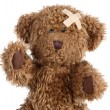 Brown teddy bear - Stock Photo