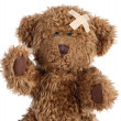 Stock Photo: Brown teddy bear