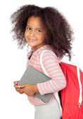 Student little girl — Stock Photo