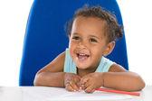 Adorable baby student — Stockfoto