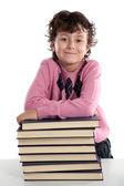 Adorable child student — Stock Photo