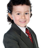 Little businessman — Stock Photo