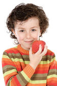 Apple whit de criança — Foto Stock