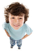 Caricature of a child — Stock Photo