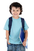 Adorable child student — Stock Photo
