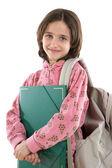Bedårande student tjej — Stockfoto
