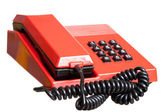 Red telephone — Stock Photo