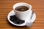 Cup of expresso coffee — Stock Photo