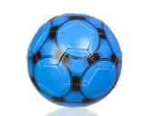Blue soccer ball — Stock Photo