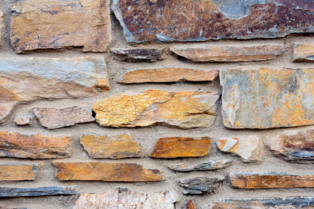 Photo of a plain Brick wall for background — Stock Photo #9439373