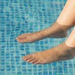 Feet refreshing — Stock Photo #9440120