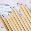 Pencils of colors - Stock Photo