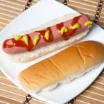 Hot dog — Stock Photo
