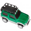 Green toy car - Stock Photo